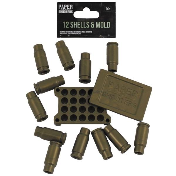 Lövedék szett papírgalacsinlövő puskákhoz, 38515
