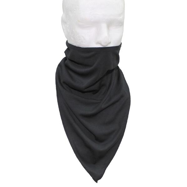Taktikai arc és nyakvédő sál, fekete, 16323A