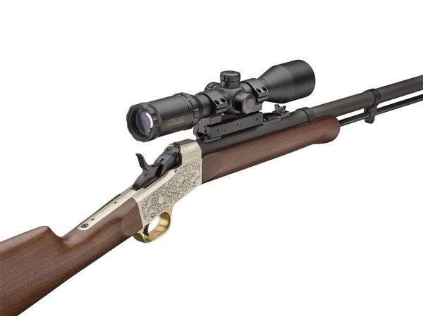 Pedersoli M.L. Rolling Block elöltöltős vadászpuska távcsővel
