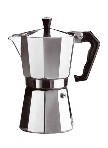 Relags Bellanapoli espresso aluminium, hatszemélyes kávéfőző, 633006