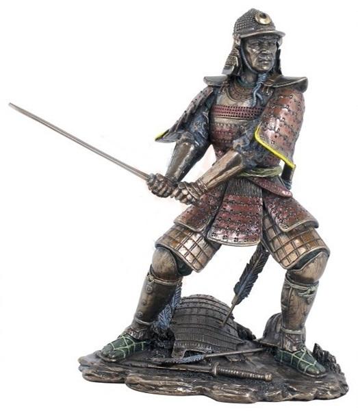 Szamuráj harcos szobor, 708-1010