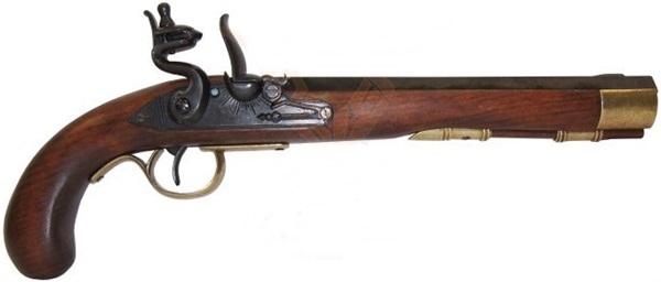 Kentucky kovás pisztoly replika, 100-0136