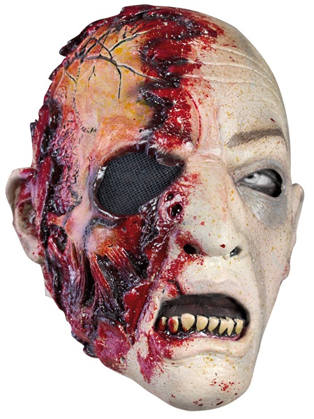Zombie maszk, véres, 51422450