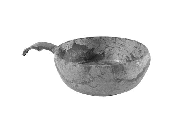 Kupilka tálka, pohár, 550ml, fekete, 024630