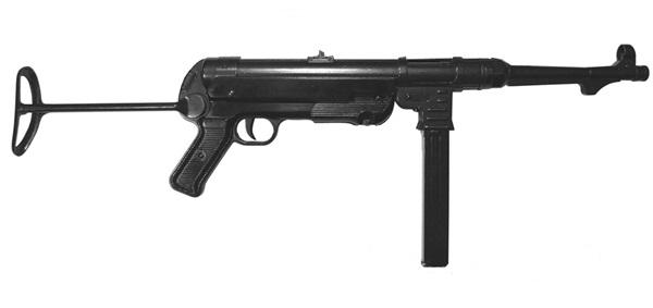 """MP40 """"Schmeisser"""" géppisztoly, 100-0111"""