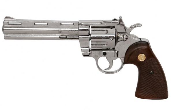 Python revolver, nikkelezett, 100-6304