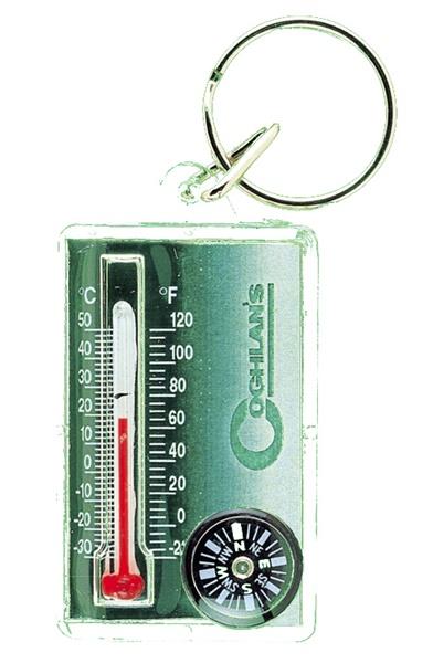 Coghlans iránytű-hőmérő kulcstartó, 389714