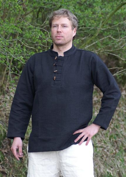 Pamut ing, vastag, fekete, 1202205810