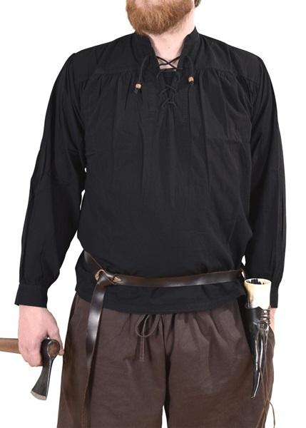Pamut ing, fekete, 1280000310