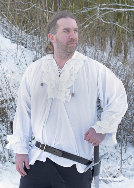 Fodros pamut ing, fehér, 1202401810