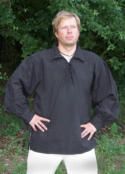 Pamut ing, fekete, 1216000120