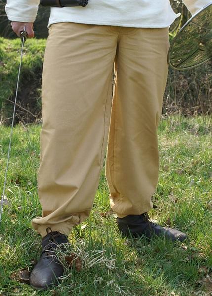 Középkori pamut nadrág, világosbarna, 1202208710