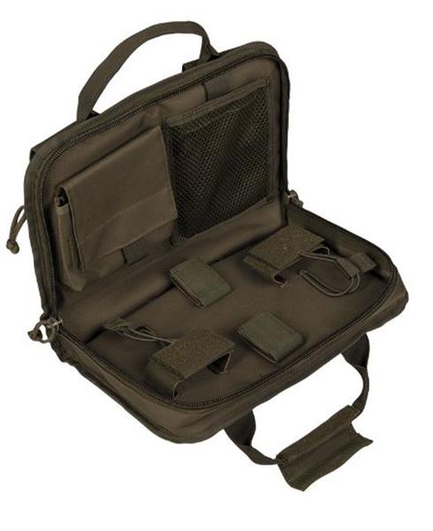 Molle pisztolytartó táska, kicsi, oliv, 16194301