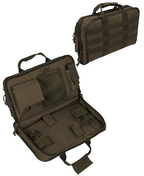 Molle pisztolytartó táska, nagy, oliv, 16194401