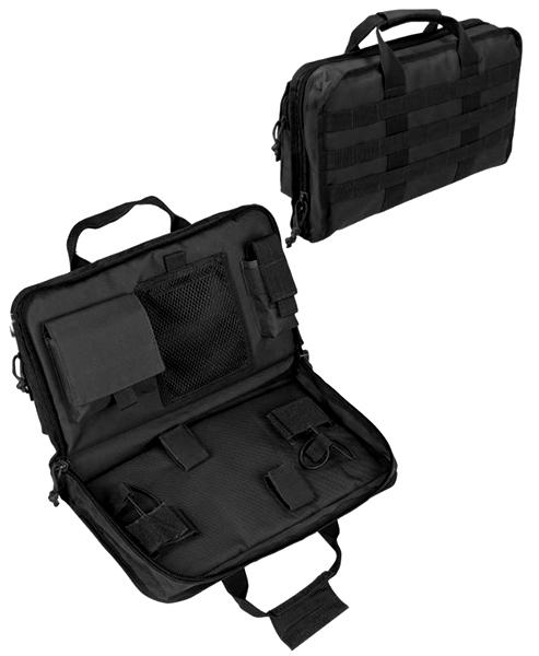 Molle pisztolytartó táska, nagy, fekete, 16194402