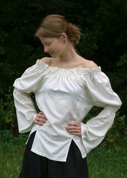 Középkori női póló, natúr, 1202207620