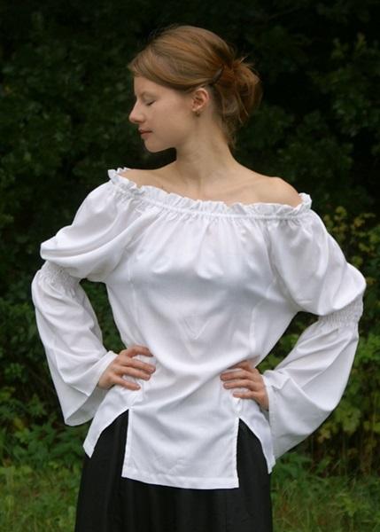 Középkori női póló, fehér,  1202207600