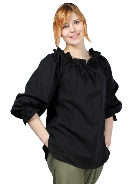 Kalóz ing, fekete, 310502
