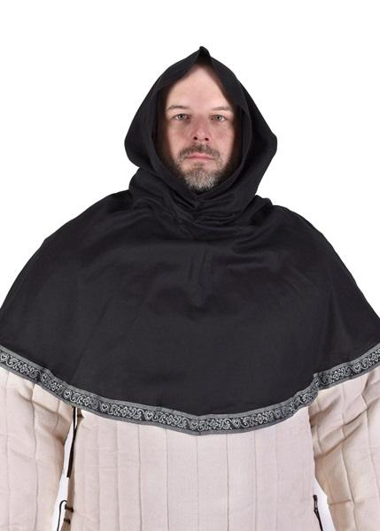 Középkori kámzsa, fekete, 1236144800