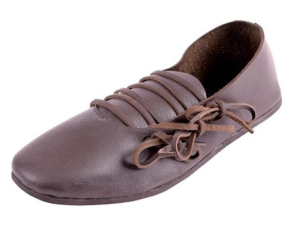 Középkori bőr cipő, FW-06