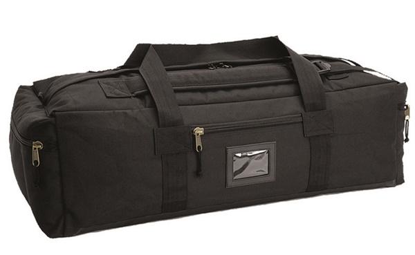 Katonai utazó táska, fekete, 13845002