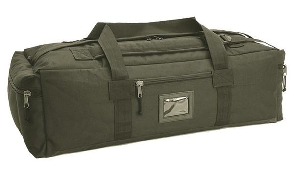 Katonai utazó táska, oliv, 13845001