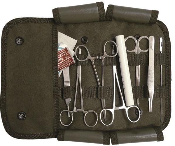 US sebészeti szett, 12 db-os, 16025000