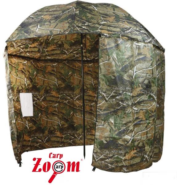 Carp Zoom Terepszínű sátras ernyő,250cm-es, CZ5975