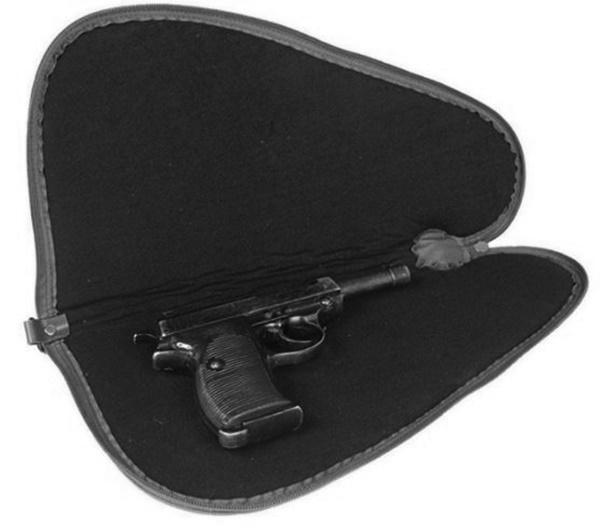 Pisztolytartó táska, fekete, 16194102