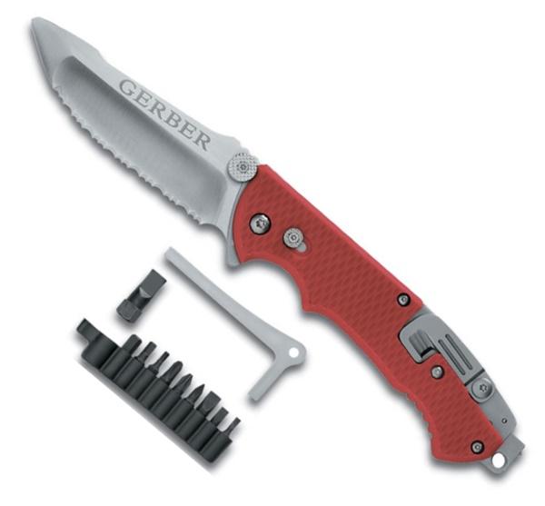 Gerber Hinderer Rescue túlélő kés, 22-01534