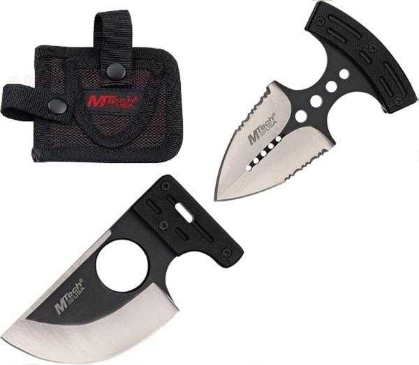 MTech Push Knife Combo marokkés, fekete, MT2024BS