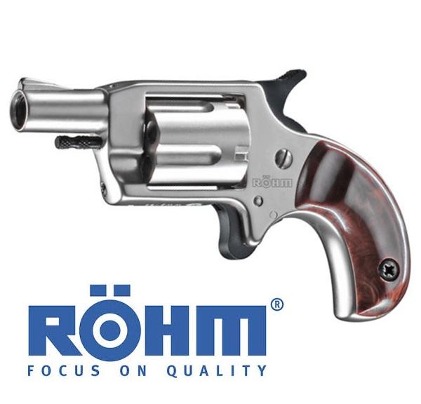 Röhm Little Joe gázpisztoly, 6 mm, nikkelezett