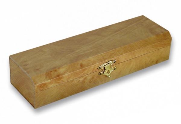 Fa díszdoboz késekhez, 23x4,5 cm-es, 34151