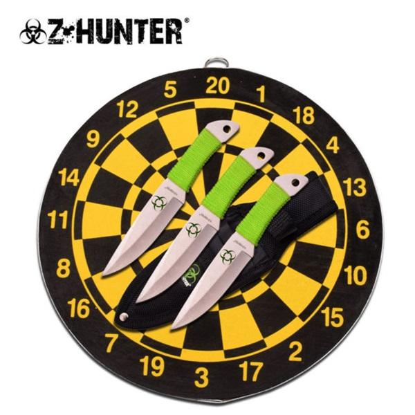 Z-Hunter dobókés készlet céltáblával, ZB154SET