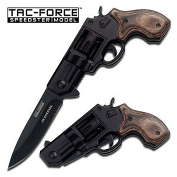Tac Force Revolver Black, TF760BGY