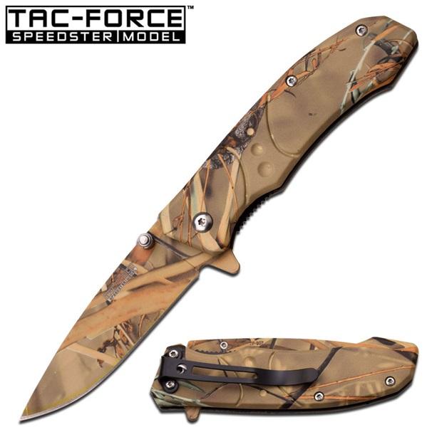 Tac Force Real Camo Folder, TF907GC