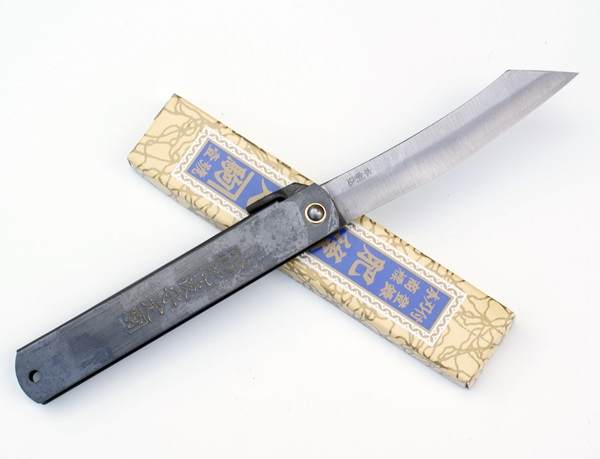 Higonokami Black 100, SK Steel, HIG7