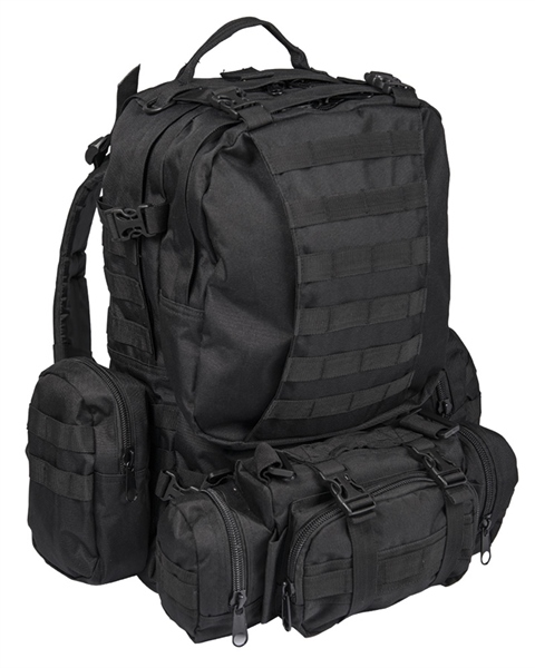 Assembly Molle hátizsák, fekete, 14045002