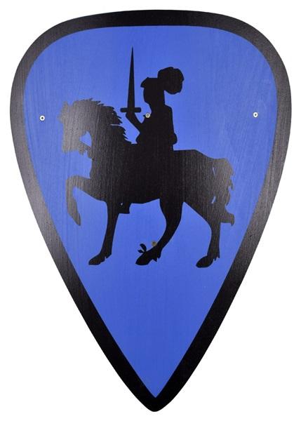 Gyerek lovagi pajzs, Albert lovag, 1580391200