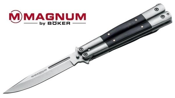 Magnum Balisong Wood pillangókés, 06EX400