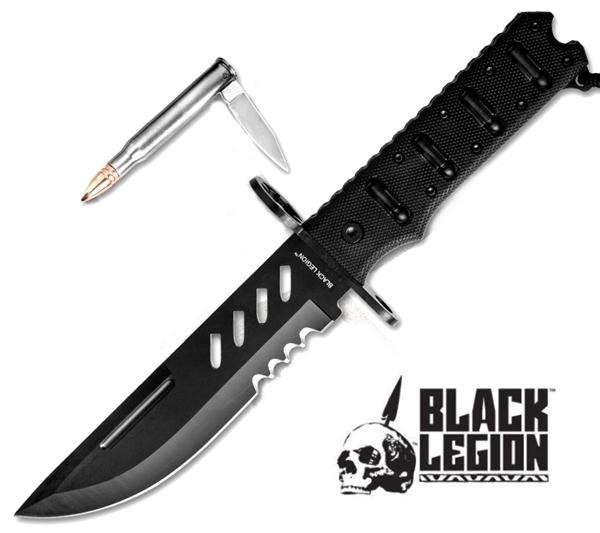 Black Legion Combat Bullet Knife, BV214