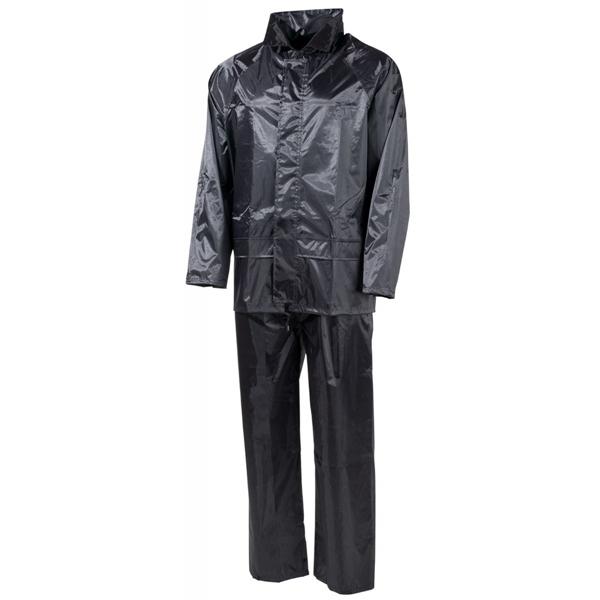 Esőkabát nadrággal, fekete, 08301A