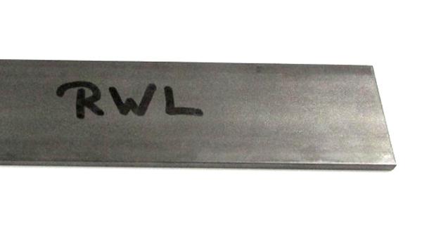 RWL-34 rozsdamentes porkohászati acél késpenge alapanyag, 25cm