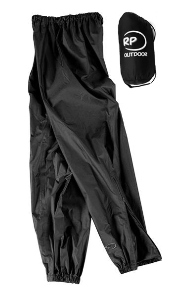 RP Minipack esőnadrág, fekete