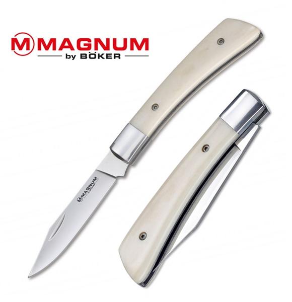 Magnum Juliet csont markolatú bicska, 01SC327
