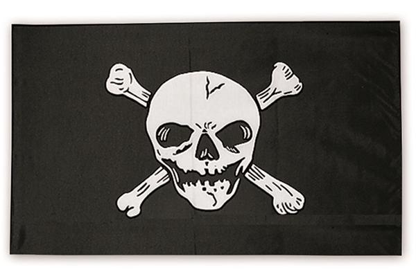 Jolly Roger halálfejes kalóz zászló, 16786000