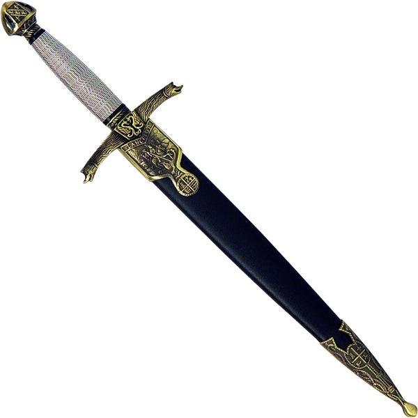 Dísz tőr Lancelot mintával, 40 cm-es, 774-6168