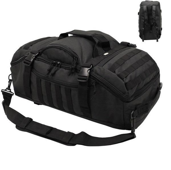 """""""Travel"""" molle utazótáska és hátizsák egyben, fekete, 30655A"""