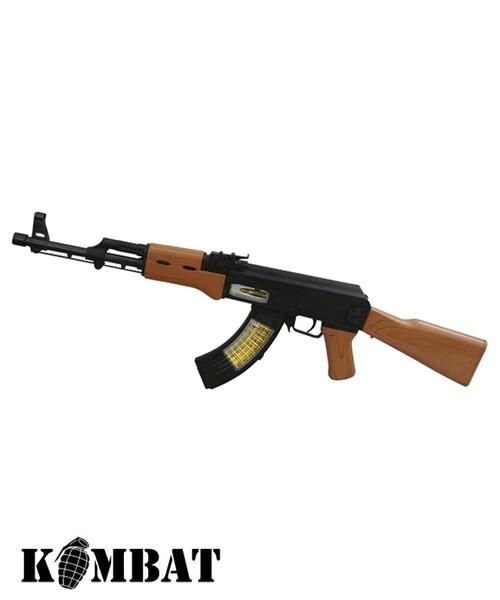 Kombat AK47 játékpuska élethű hangokkal, fényekkel, 2729