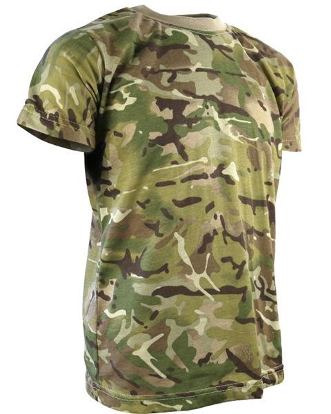 Kombat katonai gyerek póló, terepszínű, BTP